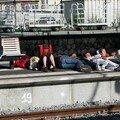 Dormir en gare!
