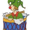 Un jeune tambour ...