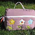 Violettes et fleuries, mes dernières créations.
