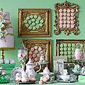 Sweet table ou table gourmande laduree trop macaron !