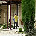 Visite au Bon Pasteur ( Pomerol)