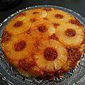 Gâteau ananas et coco