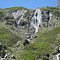 Gourette, I les Trois lacs, le Valentin, cascade d'Anglas (64)