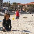 La mer en mars antibes avec my friend matis..