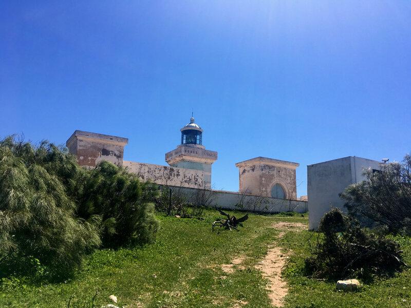 le phare du Cap Sim