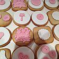 Sablés décorés à la pâte à sucre pour la fête de l'école !