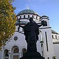 Hram svetog save (cathédrale saint-sava)