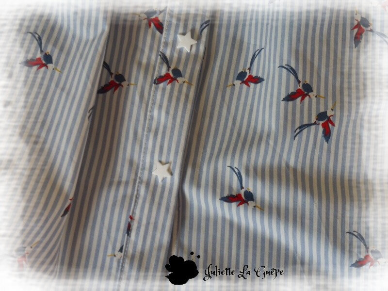 Millie Blouse blanche colibri3