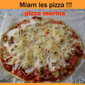 Attention attention la pizza marina est là !!