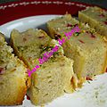 Cake aux framboises the matcha de philippe conticini