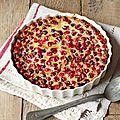 Gateau aux <b>cranberries</b> fraiches!
