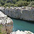 La roque sur ceze et les cascades du sautadet - les plus beaux villages de france
