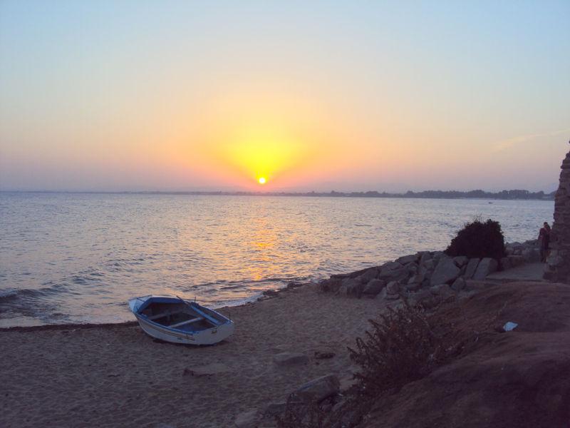 Le coucher de soleil du mardi 24 août 2010