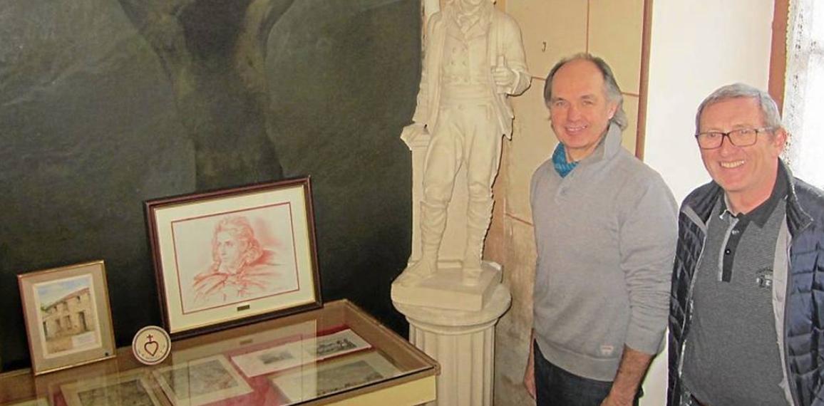 Prêt de souvenirs de Cathelineau au musée du Pin-en-Mauges