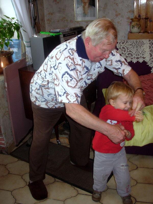 Arthur et Dady danseur - son arrière-grand-père