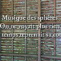Musique des sphères