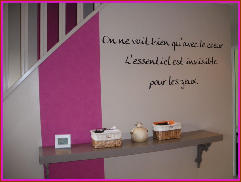 Awesome idee deco entree couloir palier gallery amazing for Decoration couloir entree maison