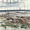 Noirmoutier gois2 - aquarelle