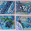 Atc textile 5 bleu