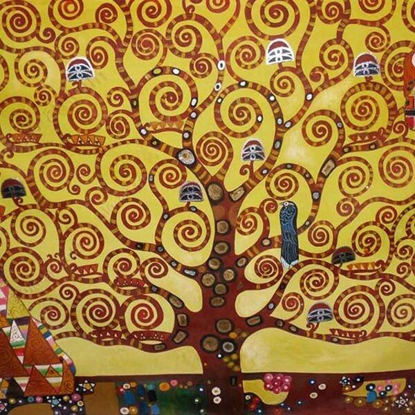 Klimt, L'Arbre de vie