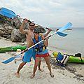 Mini croisière en kayak de mer à Bonifacio