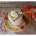 Yaourts aromatisés cannelle / citron