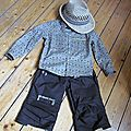 Tenue de mini englishman