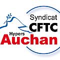 <b>ACCORD</b> FORMATION signé ! CFTC <b>AUCHAN</b> FRANCE