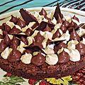 Gâteau chocolat praliné façon fantastik