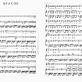 Apache (Partition - Sheet Music)