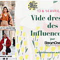le <b>Vide</b> <b>dressing</b> des influenceuses / blogeuses mode le 13 & 14 avril 2019