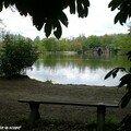 Simple banc en Bois au Parc Majolan (33)