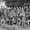 1960/61 classe de 4°<b>collège</b> <b>Louis</b> <b>Pasteur</b> (école de La Souys)