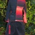 2013-11 ensemble t-shirt manches longues + jupe portefeuille On n'est pas des anges ! marinette b (2)