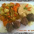 Couscous de bœuf