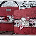 ATELIER 18 Juin : Mini album DOUCES MISSIVES