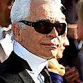 <b>Karl</b> Lagerfeld et la chatte de l'empereur