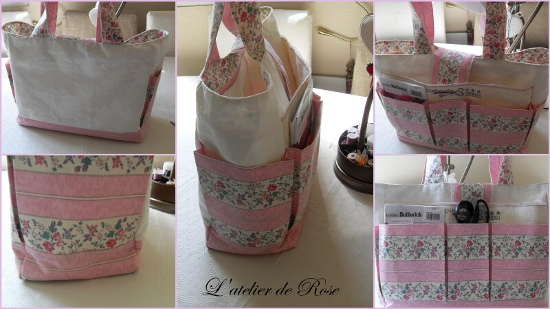 Sac cabat multipoches