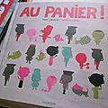Au panier ! de Henri Meunier & <b>Nathalie</b> <b>Choux</b>
