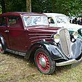 SIMCA FIAT Balilla découvrable 1934 Madine (1)