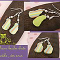 Mini boucles chats pastels dos anis