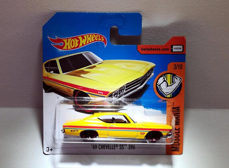 Chevrolet Chevelle SS 396 de 1969 (Hotwheels)