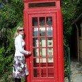 Gibraltar-cabine téléphonique