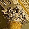 Corinthian capital, palazzo pitti , florence, italy