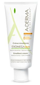J'ai testé la crème Exomega DEFI A-Derma