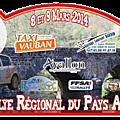 Rallye du pays avallonnais 2014