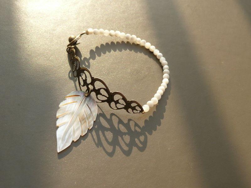 Bracelet Blossom feuille (3) - Copie