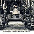 SAINS DU NORD-Baptême de cloche