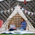 Atelier bricolage et couture : réalisation d'une tente