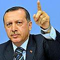 Le président turc erdogan accuse la france d'«encourager les terroristes»